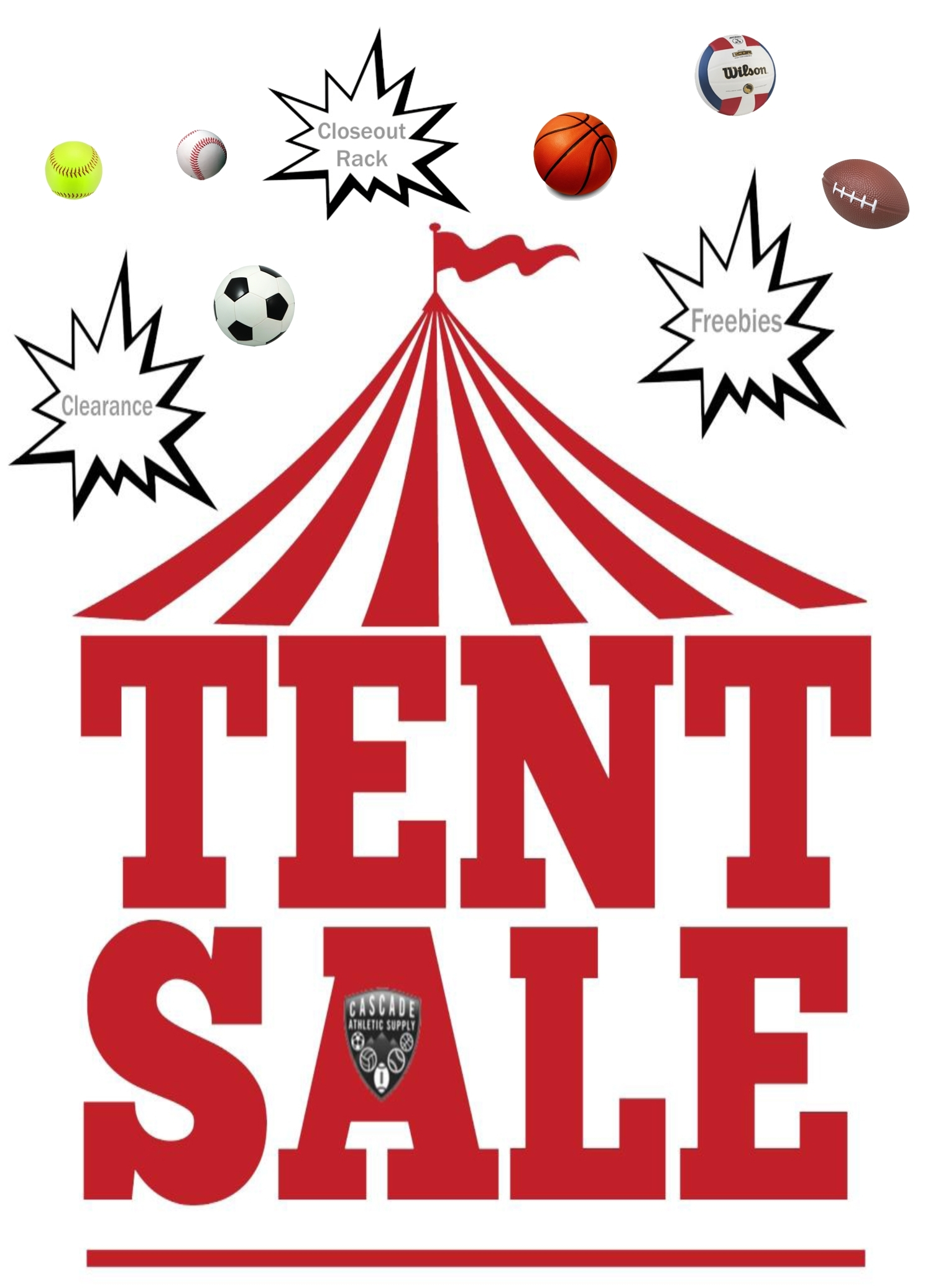 Tent Sale Cascade Athletic Supply 2019 22